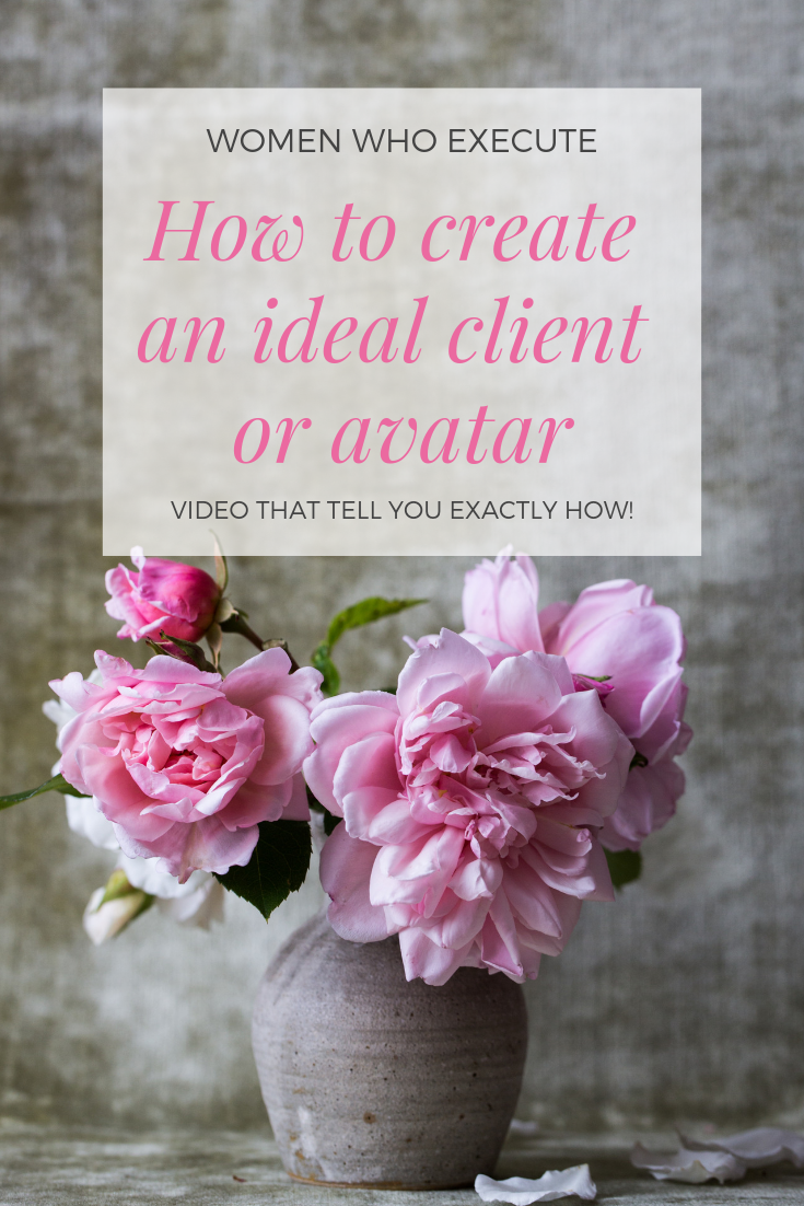 How to create an ideal client or avatar