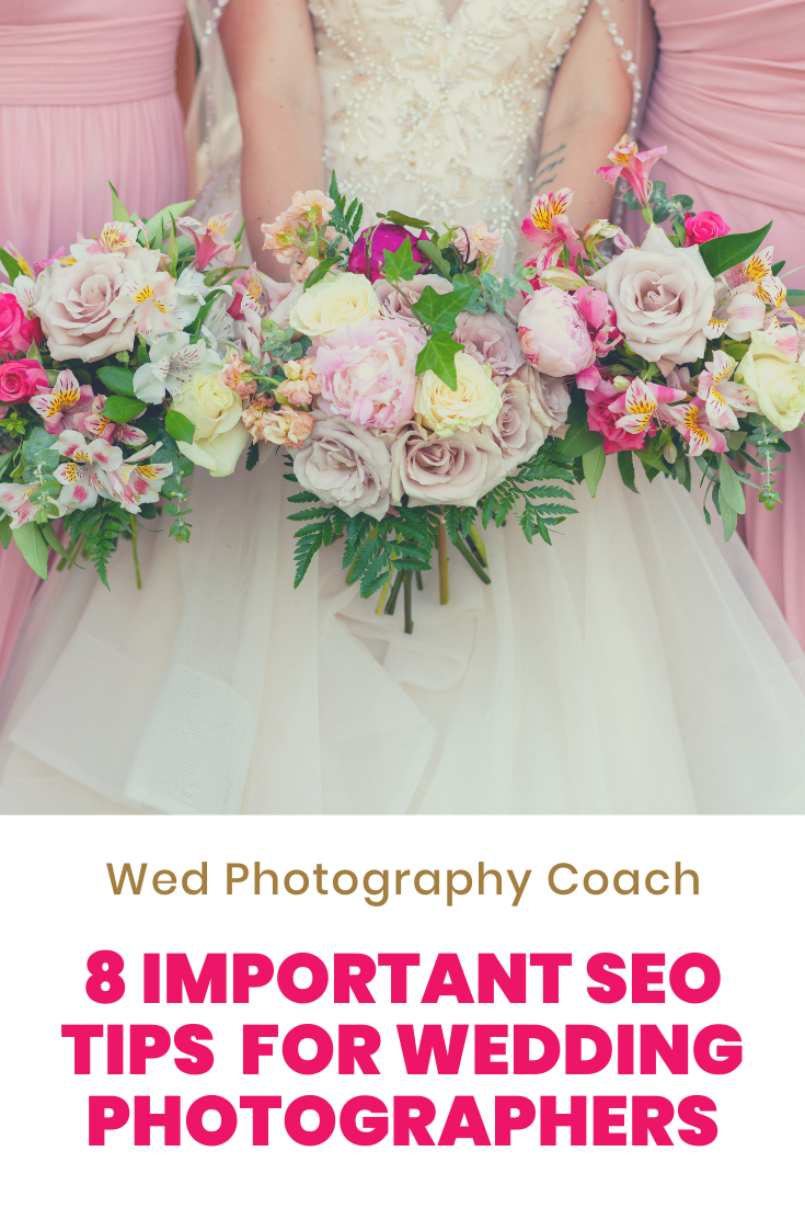 8 important SEO Tips for Wedding Photographers
