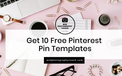 10 Free Pinterest Pin Templates