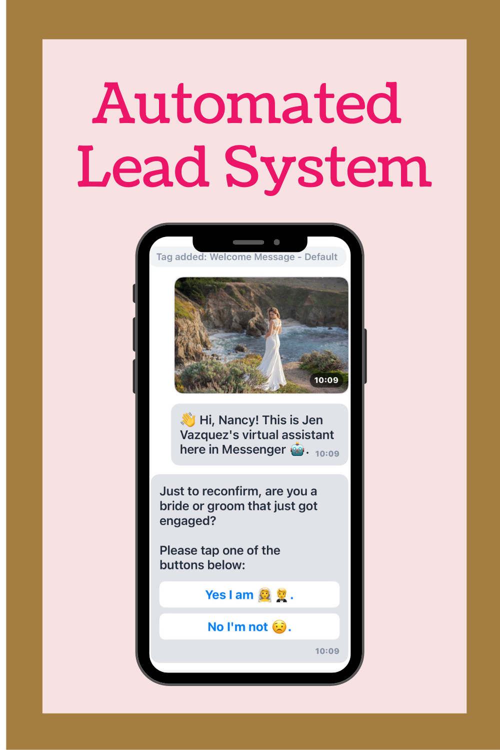 chatbot to automate leads