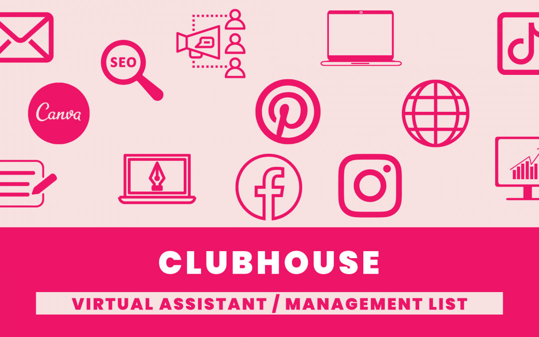 Virtual Assistants and Management Companies List