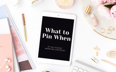 What to pin when
