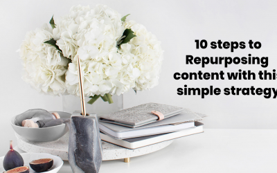 10 steps to Repurposing content with this simple strategy