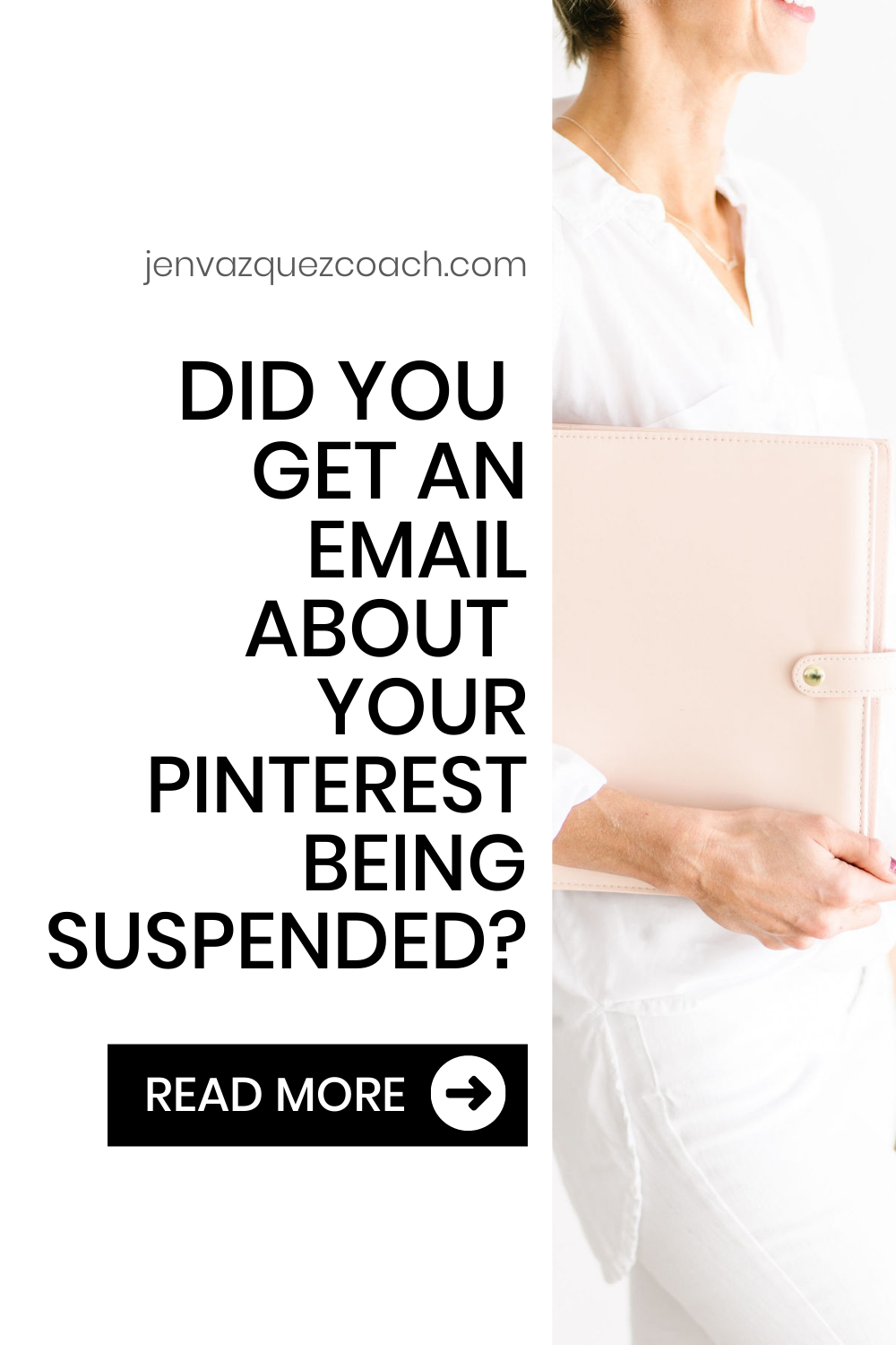 Did you get an email about your Pinterest being suspended?
